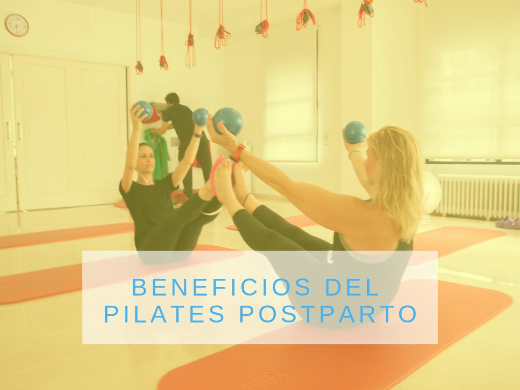 Conoce los beneficios del pilates postparto